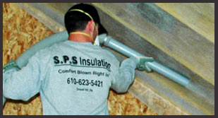 S P S Insulation Comfort And Savings Blown Right In